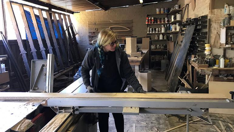 Kirsten Locke Carpentry, it's a girl thing!